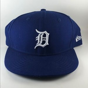 New Era Detroit Tigers Fitted Hat sz 7 3/8